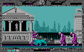 Altered Beast CGA in-game