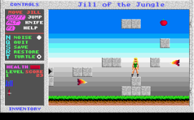 Jill of the Jungle VGA in-game