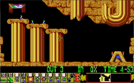 Lemmings VGA level 2