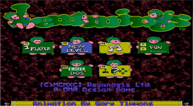 Lemmings VGA title