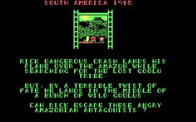 Rick Dangerous CGA story